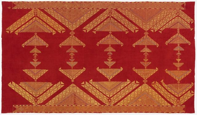 , 'Chope Phulkari,' ca. 20, Philadelphia Museum of Art