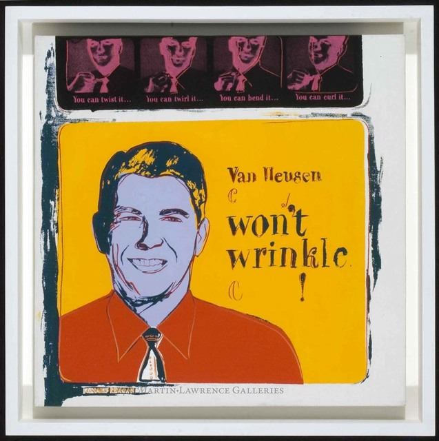 Andy Warhol, 'Van Heusen, 1985 (#356, Ads) ', 1985, Martin Lawrence Galleries