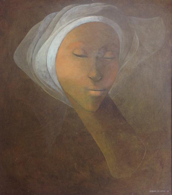 , 'Lady with Turban,' 1980, Myriam Nader Haitian Art Gallery