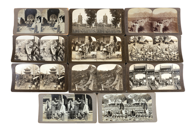 A Selection Of Rare Chinese Stereo Cards