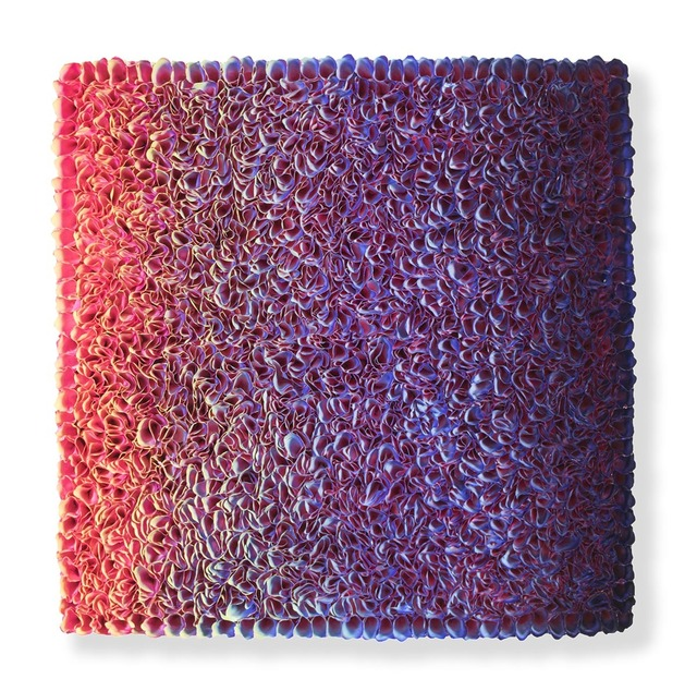 , 'Flower Bed Masterpiece Pink to Green (Click to see the colors of the Left/ Front / Right sides) ,' 2018, Nil Gallery