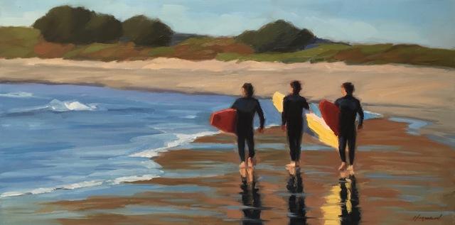 , 'Surfers,' 2018, STUDIO Gallery