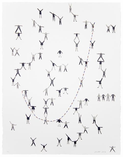 Sandra Wang and Crockett Bodelson SCUBA, 'Jump', 2015, Tamarind Institute