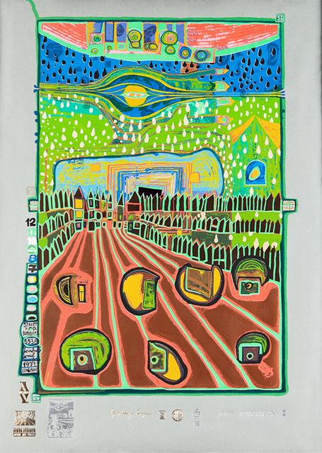Friedensreich Hundertwasser, 'Street for Survivors', 1971-1972, Pucker Gallery