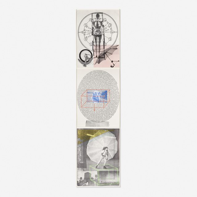 Robert Rauschenberg, 'Autobiography (three works)', 1968, Print, Lithograph in colors, Rago/Wright