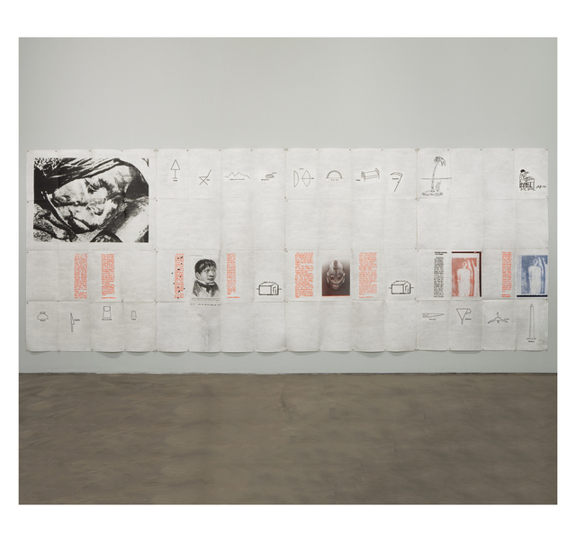 Eugenio Dittborn, 'To Travel   ', 1990, Alexander and Bonin