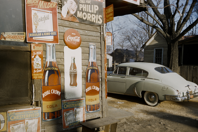 , 'Advertising signage, southern states, USA,' 1954, David Hill Gallery