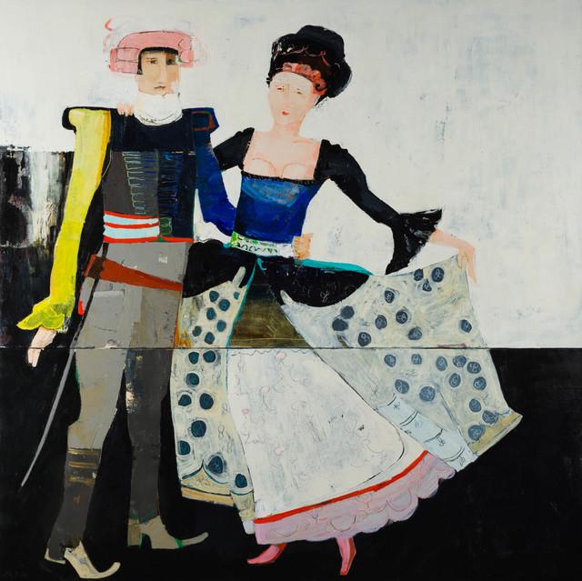 , 'Dancers II,' 2017, Sopa Fine Arts