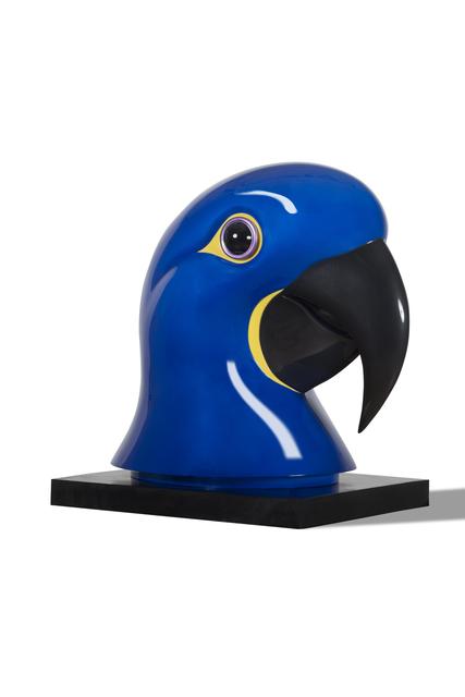 , 'Hyacinth Macaw,' 2015, Galerie Dumonteil