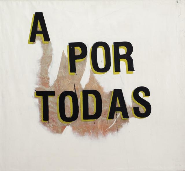 , 'A por todas,' 2008, Cosmocosa