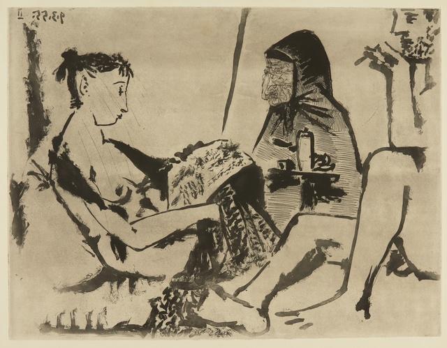 Pablo Picasso, 'Maison close: Le Chocolat I (Ba. 921)', 1955, Sotheby's