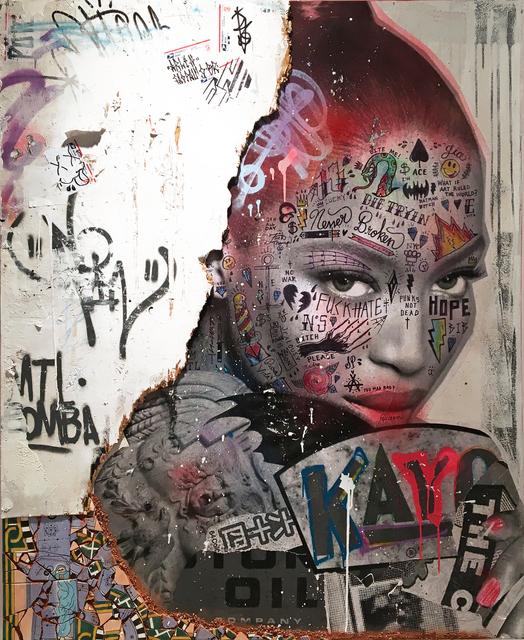 , 'Fearless (Naomi Campbell),' 2018, NextStreet Gallery