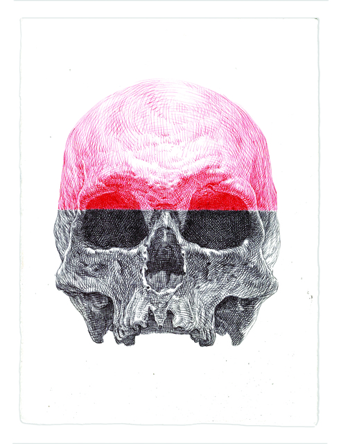 , 'Red Cranium Skull,' 2016, Subliminal Projects