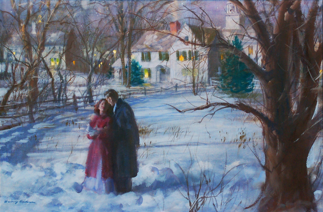 Harry Anderson, 'A Moonlight Stroll', 1949, The Illustrated Gallery