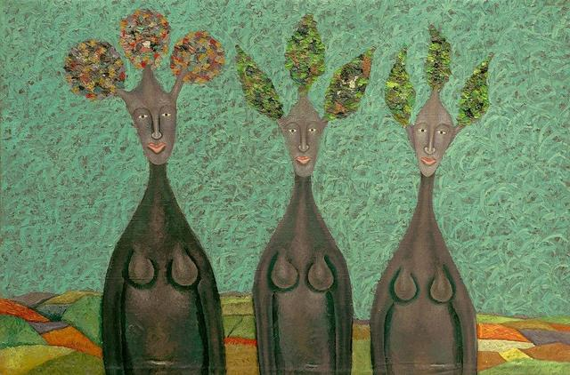 , 'Nkobo Sisters,' 2019, One Off Contemporary Art Gallery