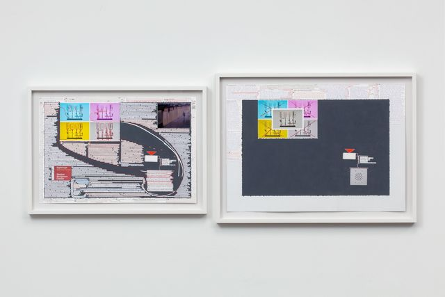 Matthew Sontheimer, 'Driving Sideways', Drawing, Collage or other Work on Paper, Mixed media on paper, Talley Dunn Gallery