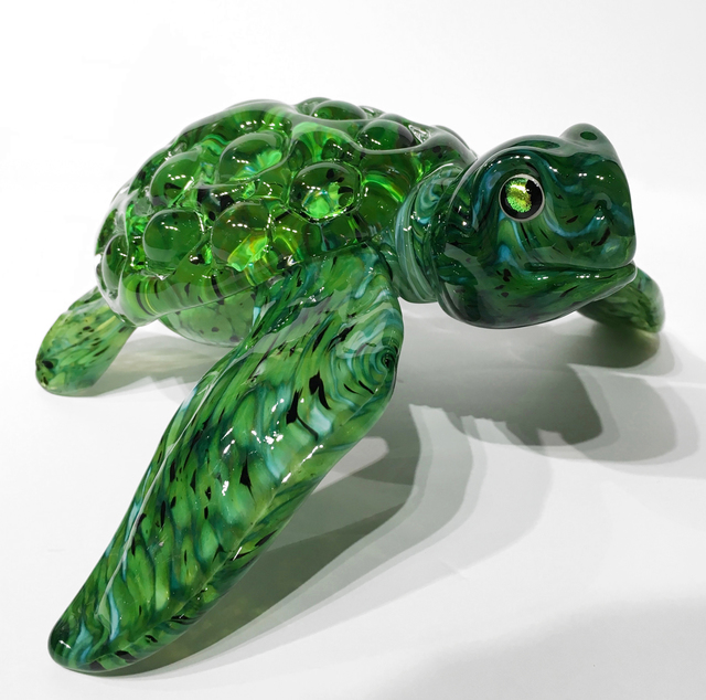 Michael Hopko, 'Sea Turtle (Green Eyes) ', 2017, Lotton Gallery