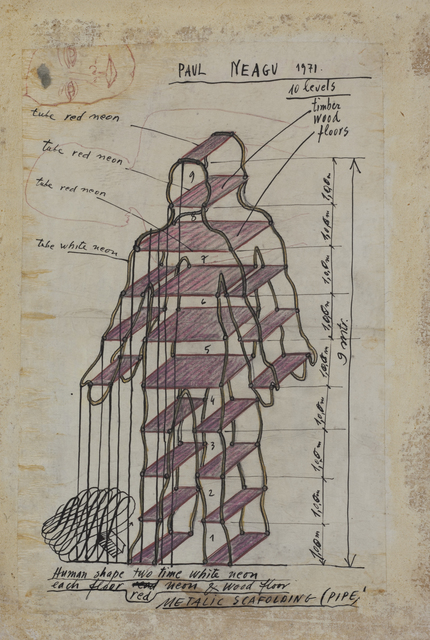 , 'Human shape,' 1971, Ivan Gallery