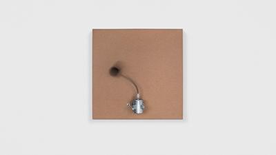 , '1 prepared dc motor, felt ball, cardboard box 23x23x6cm,' 2014, Galerie SOON