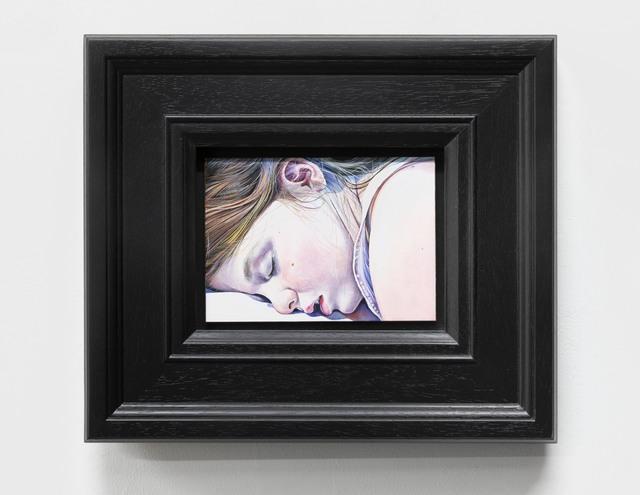 Ishbel Myerscough, 'Bella Asleep', 2018, Painting, Oil on board, Flowers