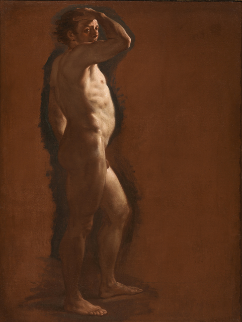 , 'MALE NUDE STUDY,' , Rob Smeets Old Master Paintings