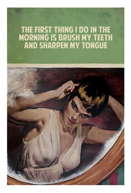 , 'Sharpen My Tongue,' 2017, Nanda Hobbs Contemporary