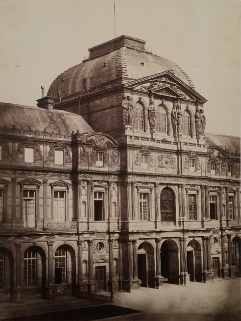 , 'Louvre, Pavillon Sully, Paris,' ca. 1852, James Hyman Gallery