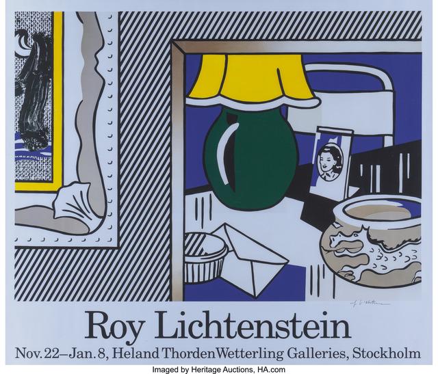 Roy Lichtenstein, 'Mannheimer Kunstverein and Wetterling Galleries (two exhibition posters)', 1977, Heritage Auctions