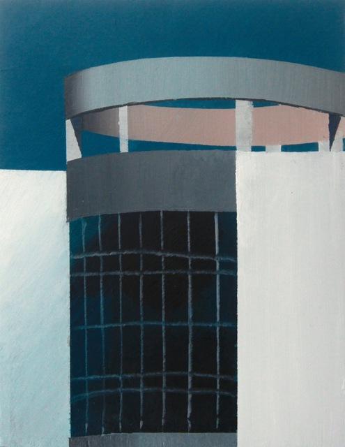 , '有环形结构装饰的建筑-A building decorated with a ring structure,' 2018, Tong Gallery+Projects