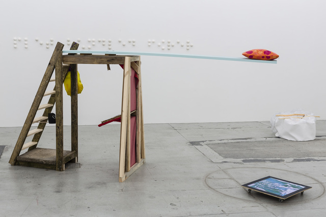 , 'Lill Apocalypse's Boat Cabin Sleeping Arrangement / The Guru's Bible Shrine,' 2014, Galleri Nicolai Wallner