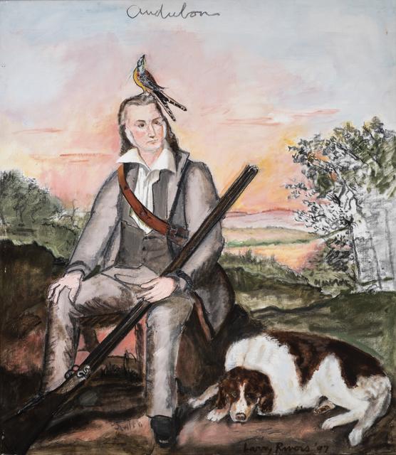 Larry Rivers, 'Portrait of James Audubon', 1997, The Sunfair Gallery