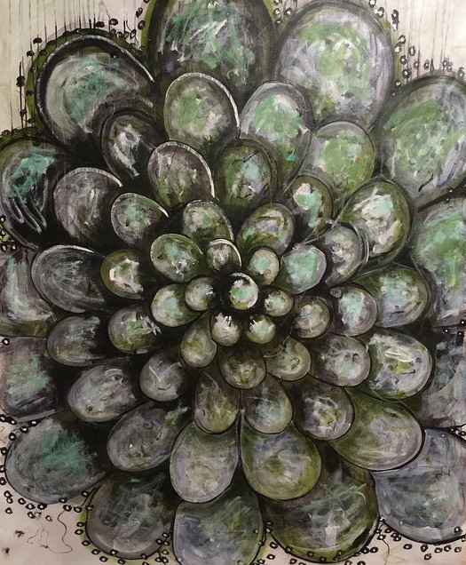, 'green mandala,' 2015, ESKFF