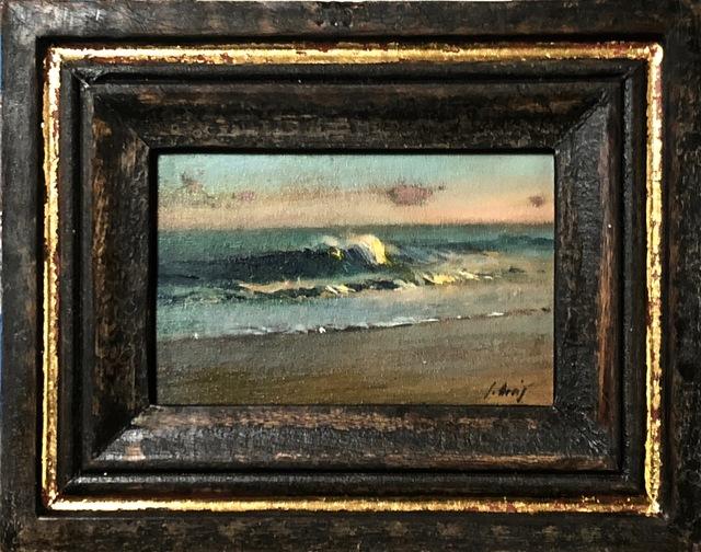 Julyan Davis, 'Wave', 2019, Painting, Oil on panel, Helena Fox Fine Art