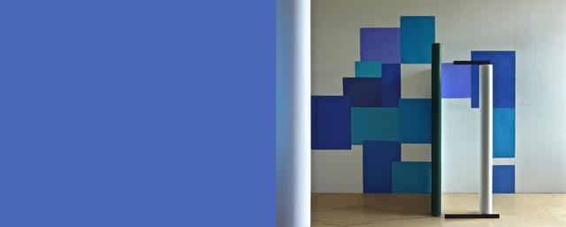 , 'Totem bleu,' 2012, Galerie Graff