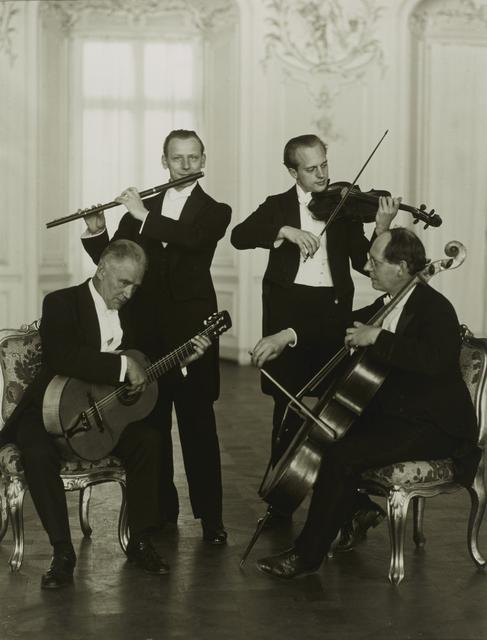, 'Quatuor de flûtes de Brühl,' 1925, Galerie Julian Sander
