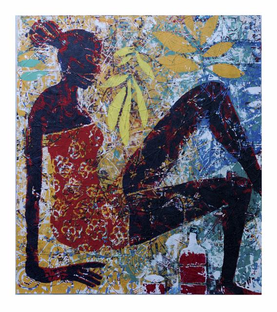 , 'NAKED TRUTH: RED RED WINE,' 2019, Kristin Hjellegjerde Gallery