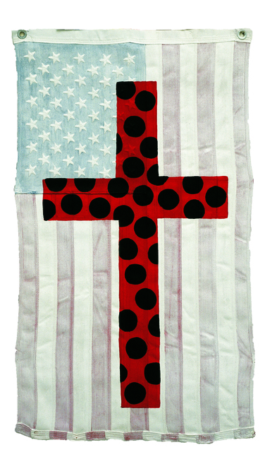 , 'Polka Dot Cross,' 2002, Lorenzelli arte
