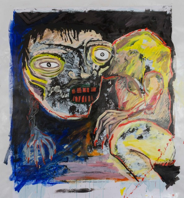 , 'Scary monsters,' 2017, 55Bellechasse