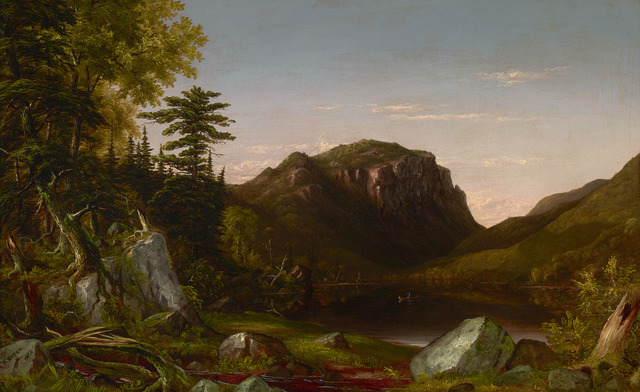 , 'Crossing the Mountain Ford,' 1856, M.S. Rau Antiques