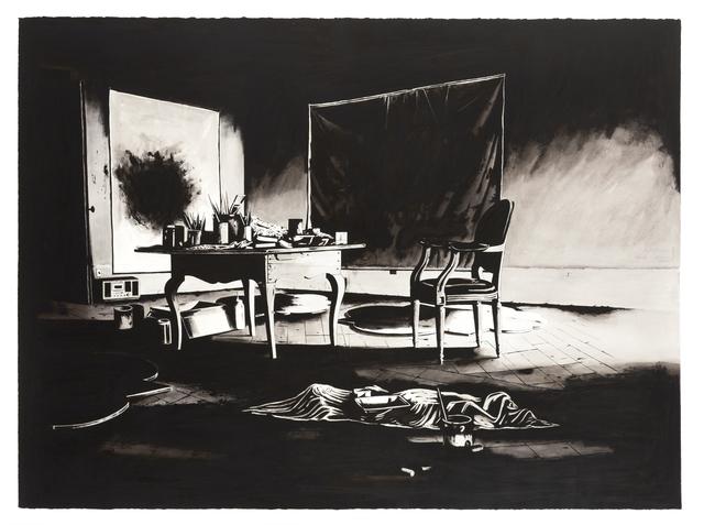 , 'Ateliê Cy Twombly,' 2015, Referência Galeria de Arte