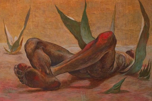 , 'Hombre Acostado Entre Maguey,' 1952, Andrés Siegel / Arte