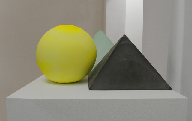 , 'Pyramid and ball,' 2012, Belo-Galsterer Galeria