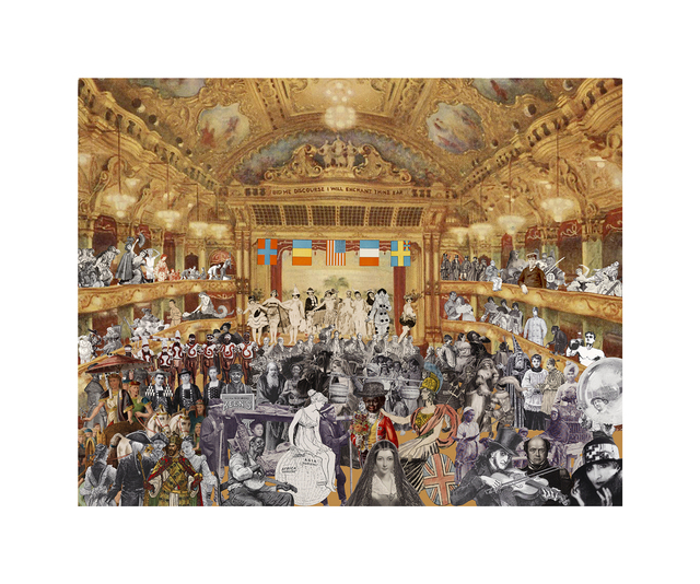 , 'Marcel Duchamp's World Tour: New Year's Eve Parade at the Tower Ballroom, Blackpool,' 2015, CCA Galleries