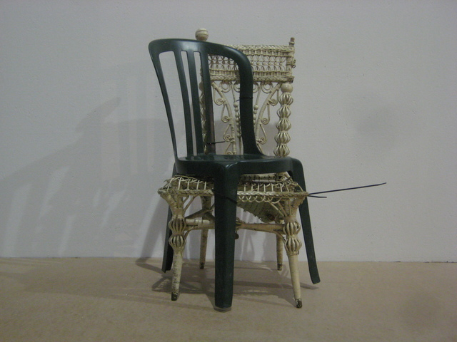 , 'Two Chairs,' 2009, Nina Johnson