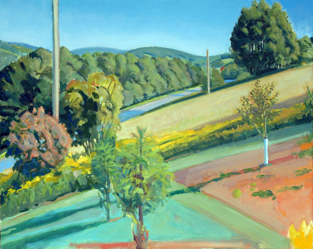 Richard Kirk Mills, 'Summer Hillside', 2015, Blue Mountain Gallery