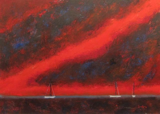 , 'Evening Harbor,' 2013, Gallery NAGA