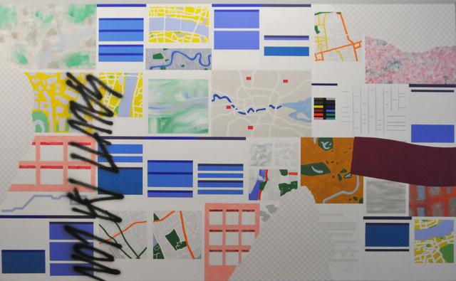 , 'Paesaggio con veduta (Londra I),' 2010, Collezione Maramotti