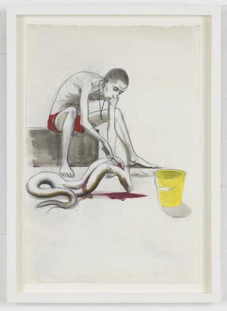 , 'Untitled (Eel gutter),' 2013, Pilar Corrias Gallery