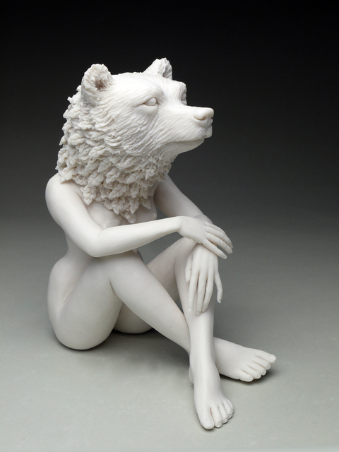 Crystal Morey, 'New Symbiosis: Brown Bear with New Growth ', 2017, Duane Reed Gallery