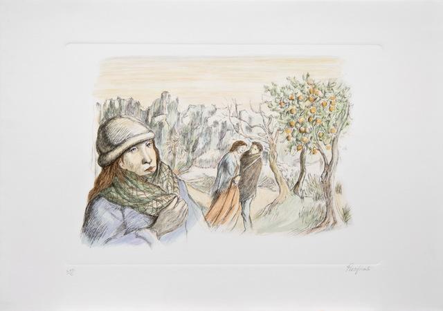, 'Inverno / Winter,' ca. 1980, Galleria Edarcom Europa